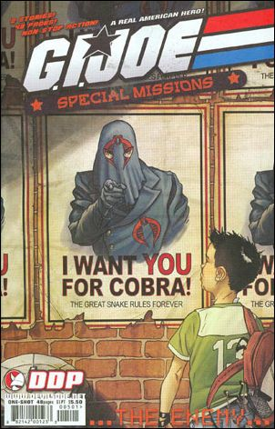 G.I. Joe: Special Missions: The Enemy 1-A by Devil's Due