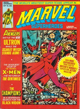 Marvel Superheroes (UK) 365-A