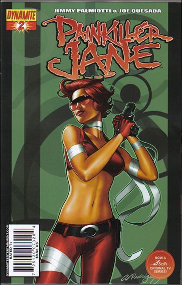 Painkiller Jane (2007) 2-B by Dynamite Entertainment