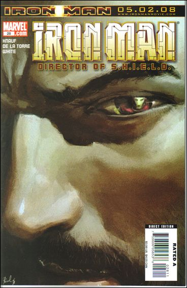 Invincible Iron Man (2005) 28-A by Marvel