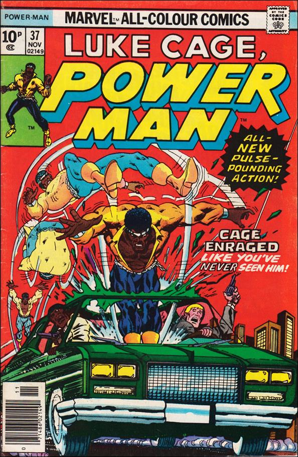Power Man 37-B by Marvel