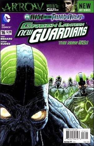Green Lantern: New Guardians  16-A by DC