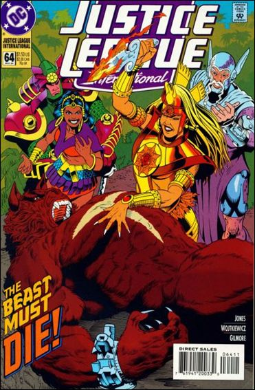 Justice League International (1993)  64-A by DC