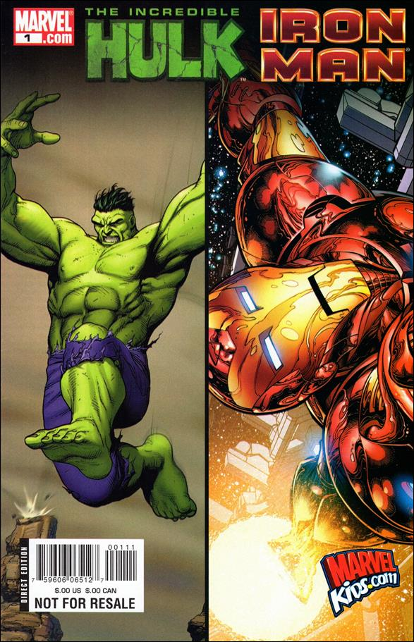 Iron Man/Hulk Sampler 1-A by Marvel