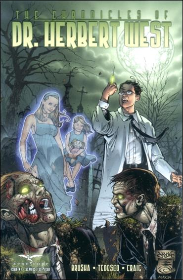 Chronicles of Dr. Herbert West 1-A by Zenescope Entertainment