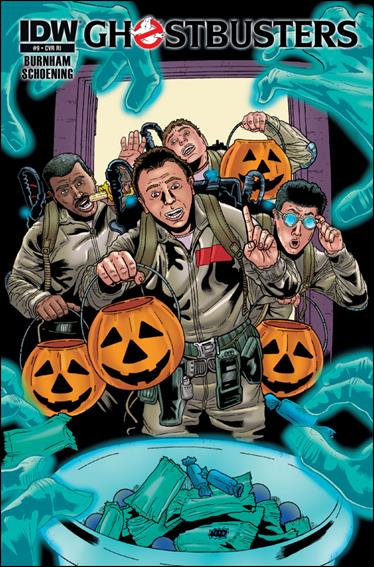 Ghostbusters (2013) 9-B by IDW