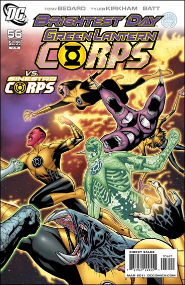 Green Lantern Corps (2006) 56-B by DC