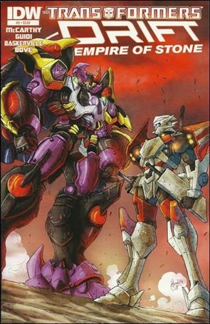 Transformers: Drift - Empire of Stone 3-A