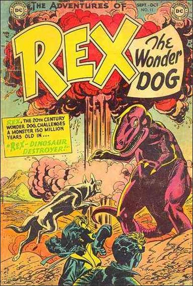 Adventures of Rex the Wonder Dog 11-A by DC