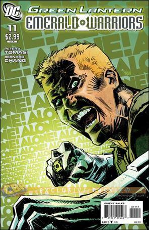 Green Lantern: Emerald Warriors 11-A