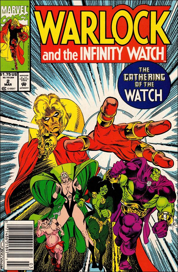 Warlock and the Infinity Watch 2-A by Marvel