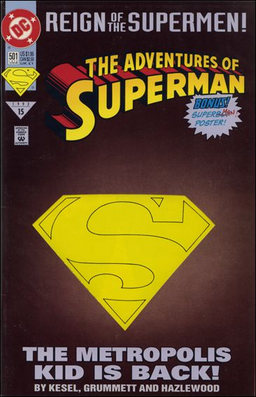 Adventures of Superman (1987) 501-A by DC