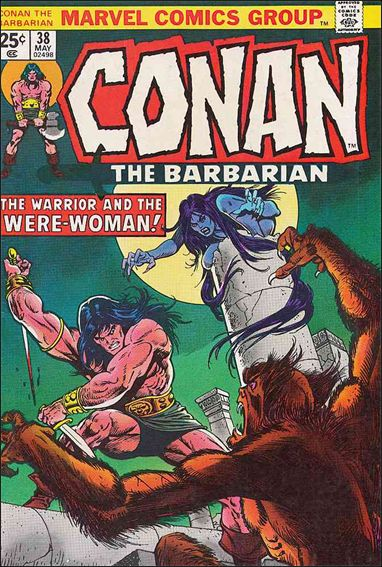 Conan the Barbarian (1970) 38-A by Marvel