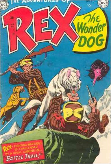 Adventures of Rex the Wonder Dog 7-A by DC