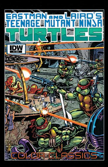 Teenage Mutant Ninja Turtles Color Classics  5-A by IDW