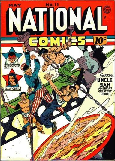 National Comics (1940) 11-A by Quality