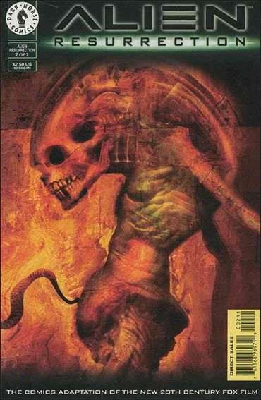 Alien Resurrection 2-A by Dark Horse