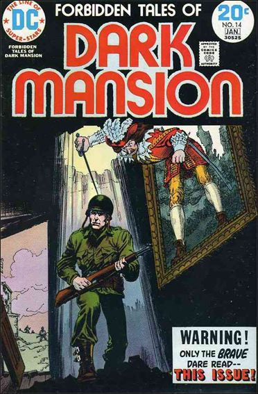 Forbidden Tales of Dark Mansion 14-A by DC