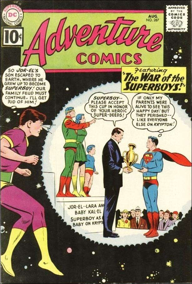 Adventure Comics (1938) 287-A by DC