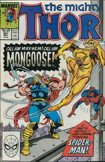 Thor (1966) 391-A by Marvel