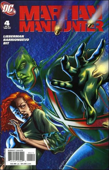 Martian Manhunter (2006) 4-A by DC