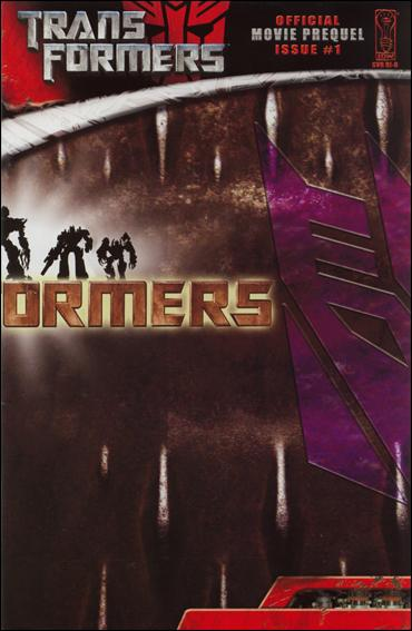 Transformers: Movie Prequel 1-D by IDW