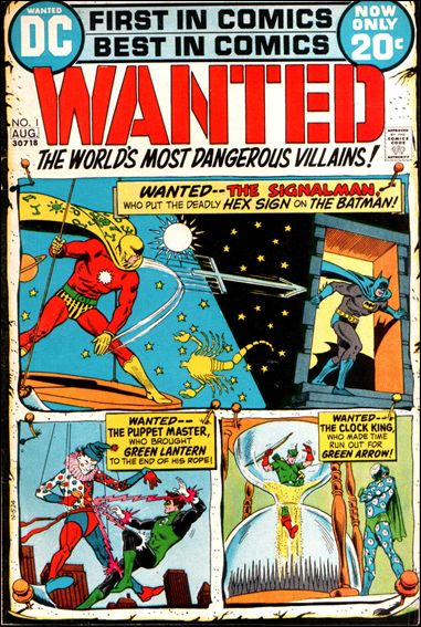 Wanted, the World's Most Dangerous Villains 1-A by DC