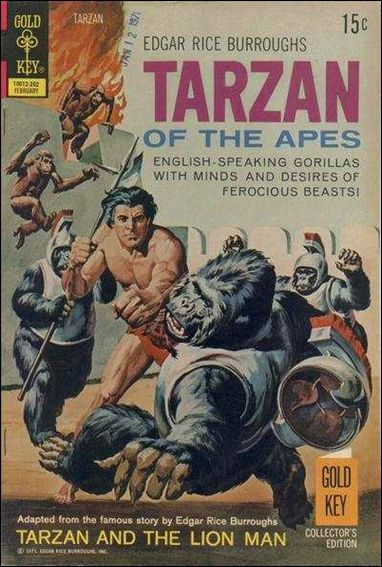 Tarzan (1962) 206-A by Gold Key