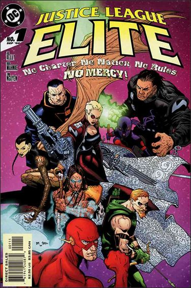 Justice League Elite 1-A by DC