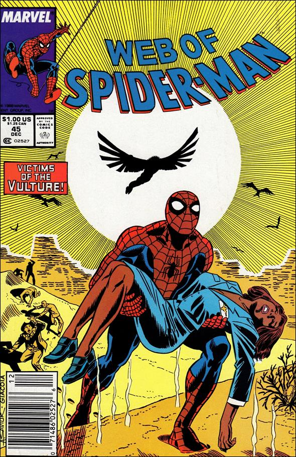 Web of Spider-Man (1985) 45-A by Marvel
