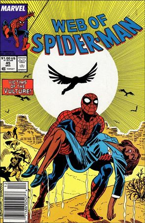 Web of Spider-Man (1985) 45-A