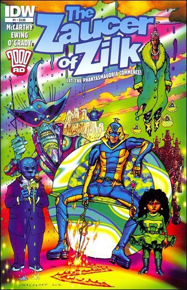Zaucer of Zilk 1-A by IDW