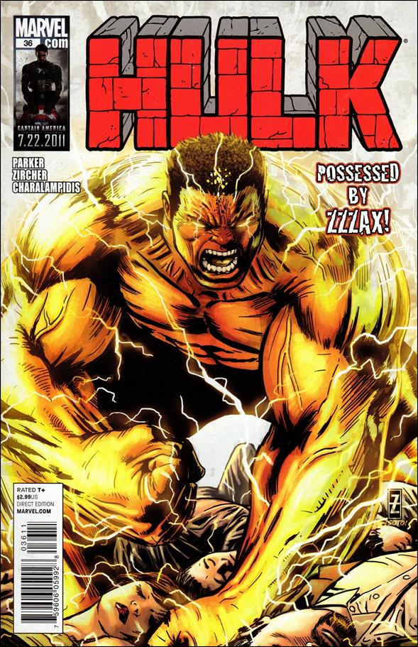 Hulk (2008)  36-A by Marvel