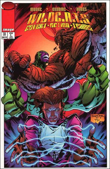 WildC.A.T.s: Covert Action Teams 33-A by Image