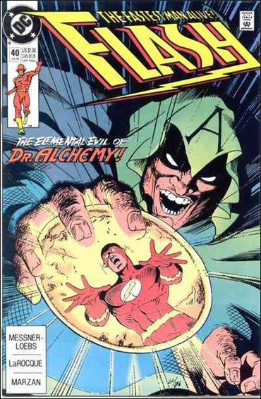 Flash (1987) 40-A by DC
