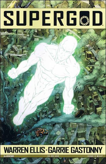 Warren Ellis' Supergod 3-B by Avatar Press