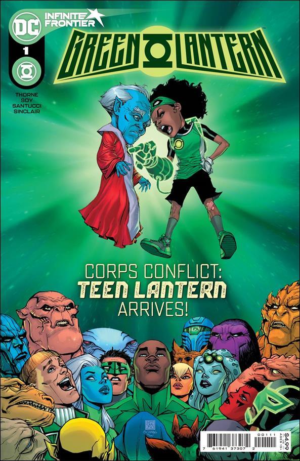 Green Lantern (2021) 1-A by DC