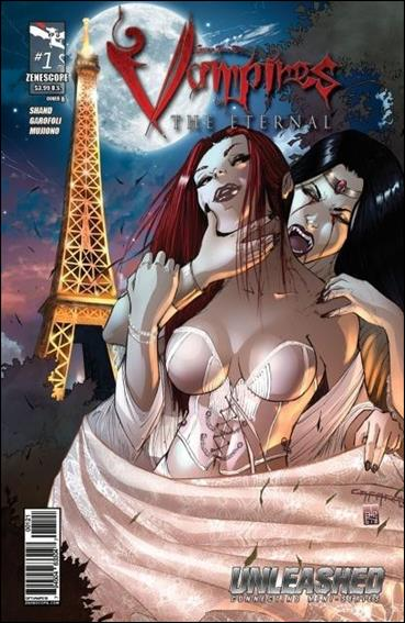 Grimm Fairy Tales Presents Vampires: The Eternal 1-B by Zenescope Entertainment
