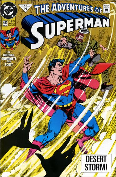 Adventures of Superman (1987) 490-A by DC