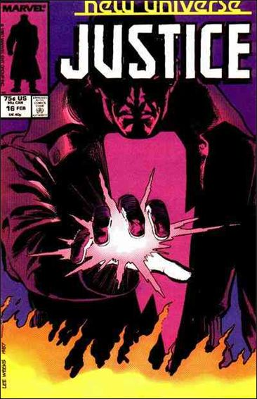 Justice (1986) 16-A by Marvel