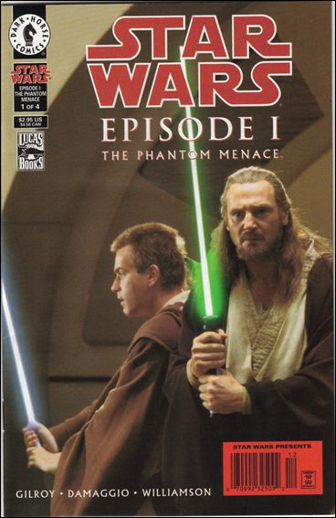 Star Wars: Episode I The Phantom Menace 1-B by Dark Horse
