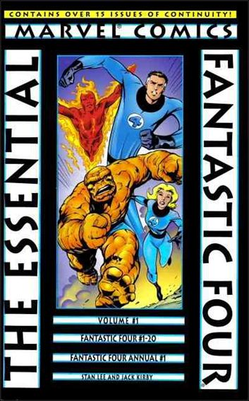 Essential Fantastic Four 1-A by Marvel