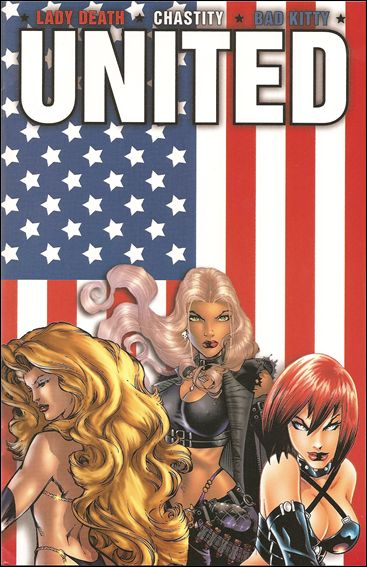 Lady Death/Chastity/Bad Kitty: United 1-B by Chaos
