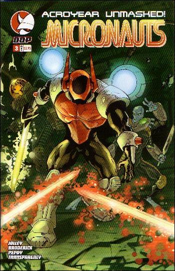 Micronauts (2004) 3-A by Devil's Due