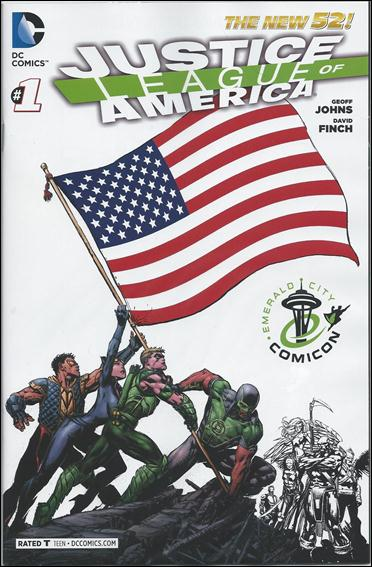 Justice League of America (2013)  1-D by DC