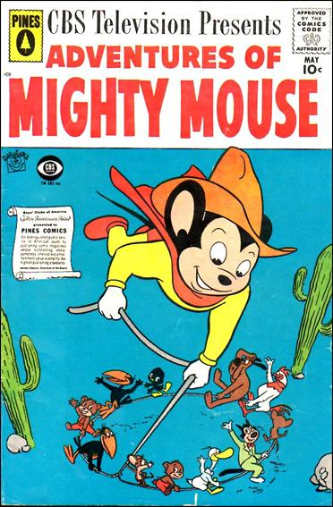 Adventures of Mighty Mouse (1956) 143-A by Pines