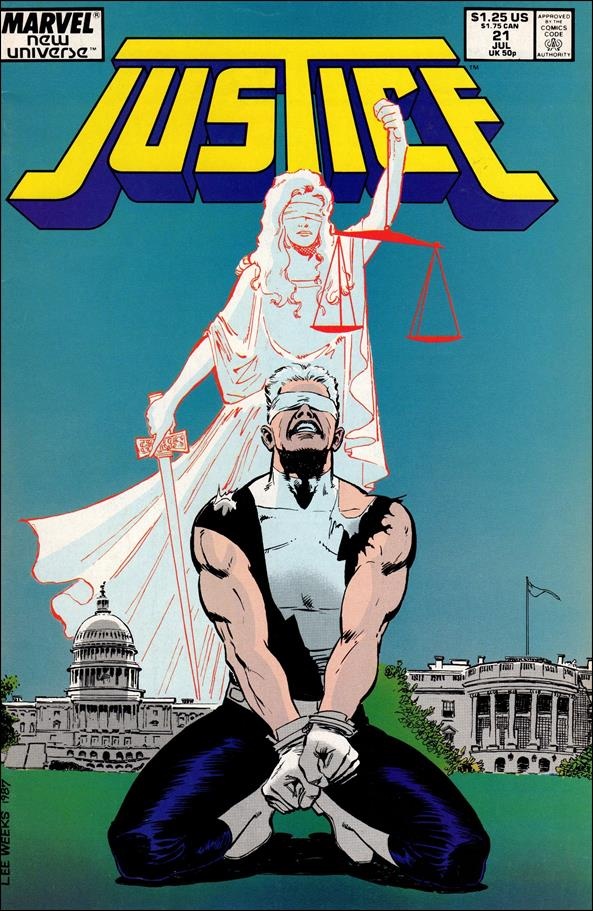 Justice (1986) 21-A by Marvel