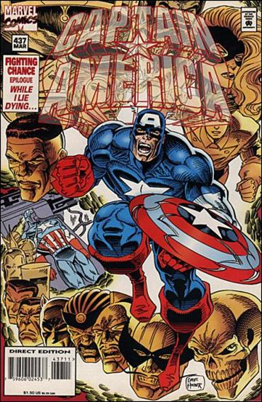 Captain America (1968) 437-A by Marvel
