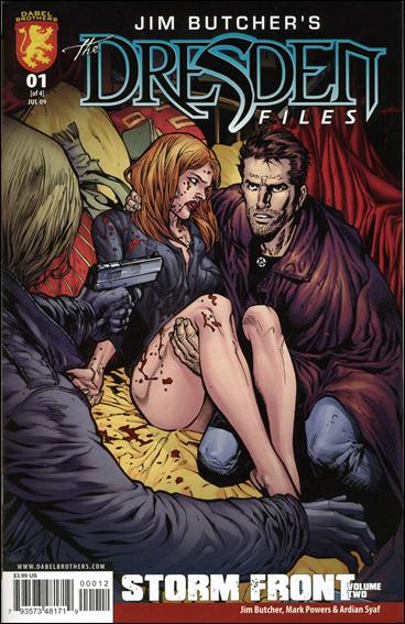 Jim Butcher's The Dresden Files: Storm Front (2009) 1-A by Dynamite Entertainment