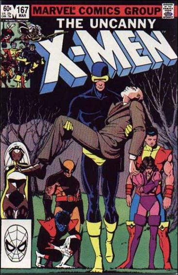 Uncanny X-Men (1981) 167-A by Marvel